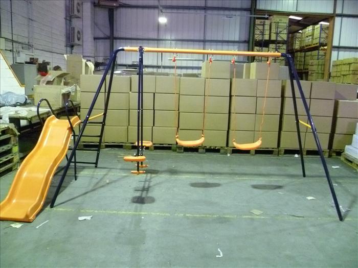 Hedstrom Trampoline Assembly Instructions