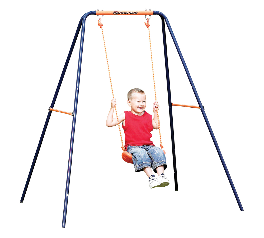 Single swing hedstrom for Swing set frame only